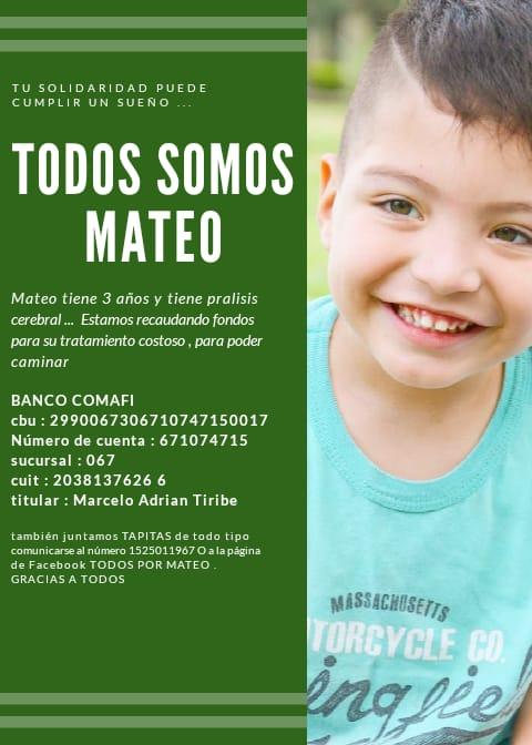 TODOS SOMOS MATEO